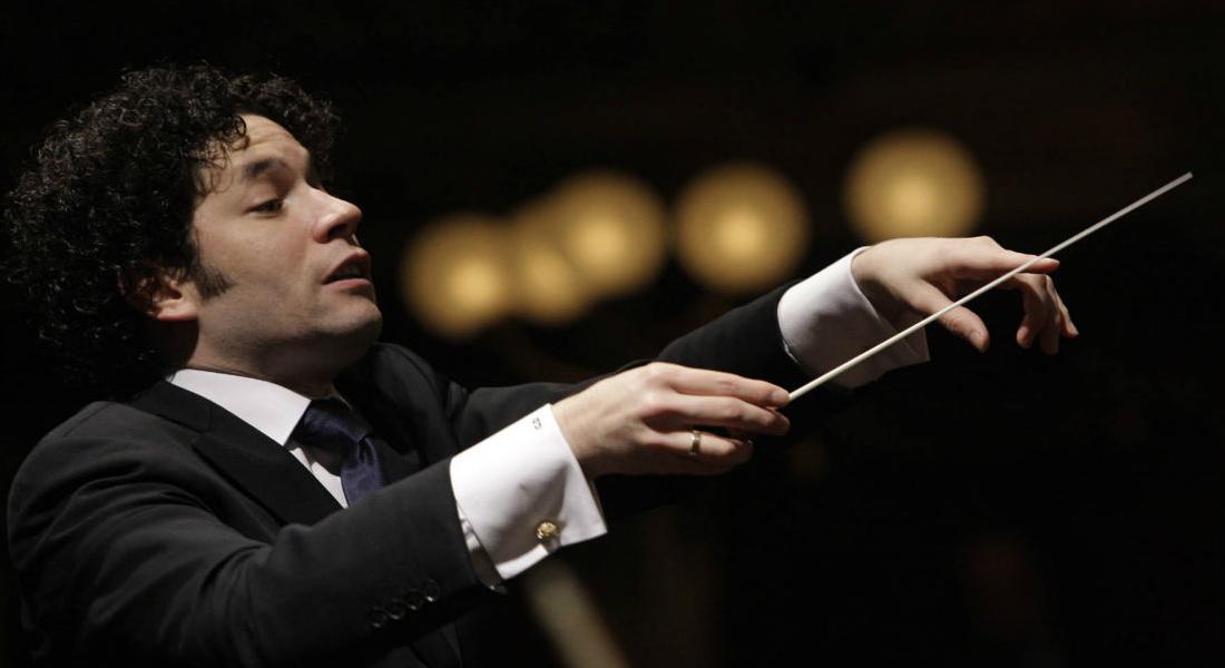 Gustavo Dudamel seguirá como director de la Filarmónica de Los Ángeles hasta 2026. Foto: El Nacional