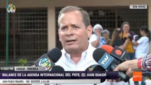 Dip. Juan Pablo Guanipa: Se espera que Guaidó sea recibido en Estados Unidos