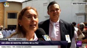 Trujillo celebra los 450 años de Nuestra Señora de La Paz