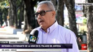 Detenido estudiante de la USM en Palacio de Justicia en Caracas