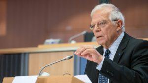 Joseph Borrell, alto representante de Exteriores de la Unión Europea