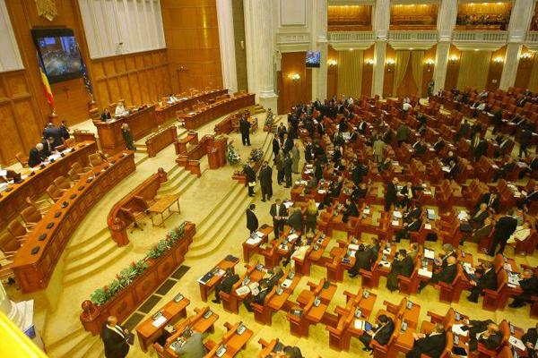 Cámara de diputados en Rumania