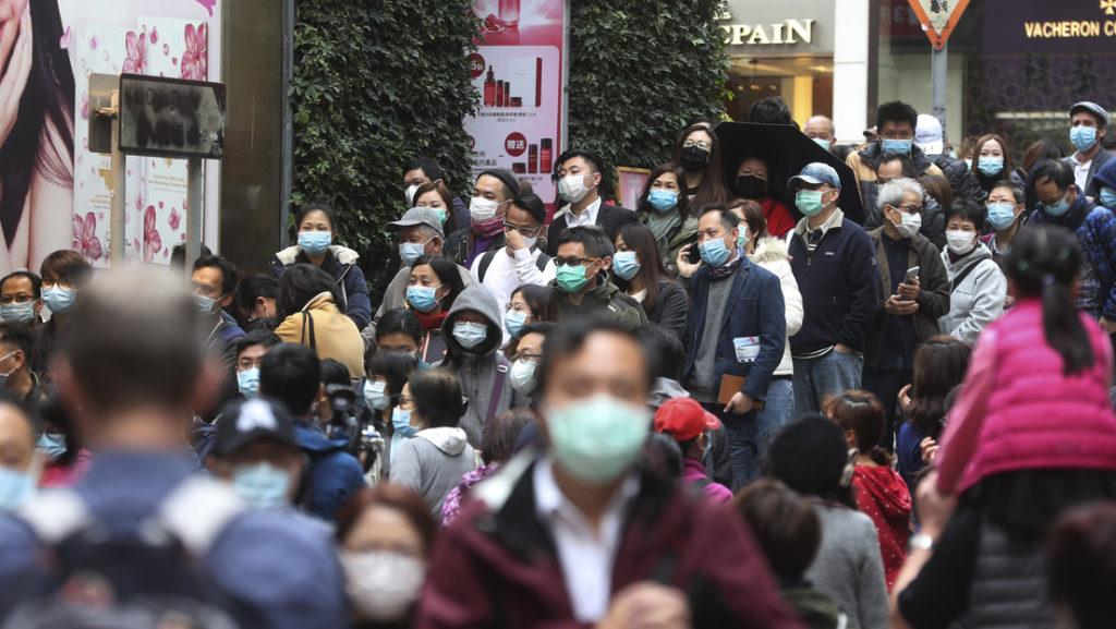 Comunidades chinas se desplazan protegido