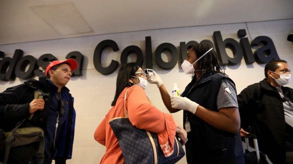Colombia elevó a 128 los casos de Covid-19   Foto: Cortesía
