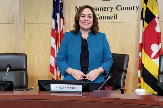 Nancy Navarro, concejal por Montgomery, EEUU