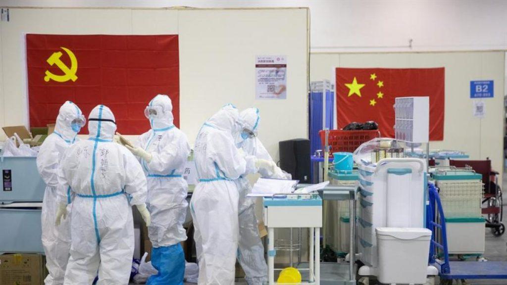 Laboratorios chinos dedicados a las pruebas por dopaje se han dedicado a la atención de la emergencia por covid-19. Foto: EFE