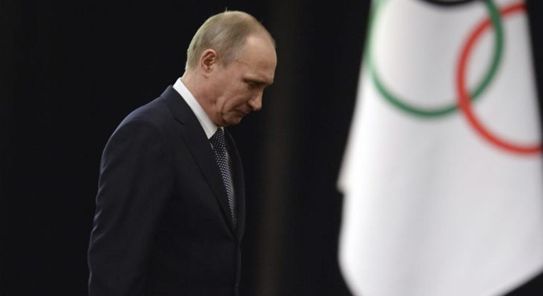 El mandatario ruso Vladimir Putin fue firme en su postura de no aceptar la exclusión de la AMA. Foto: AFP