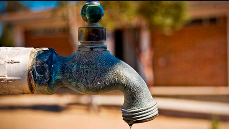 Venezolanos sin agua