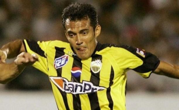 """El """"lagarto"""" Juan García en su época en el Deportivo Táchira"""