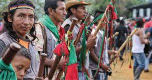Asesinan a cuatro indígenas