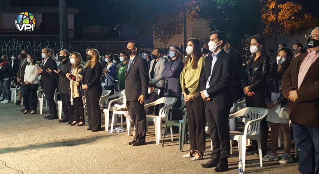 Autoridades municipales estuvieron presentes en el evento. Foto: Luis Gabriel Patiño