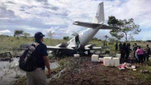 Honduras-avioneta