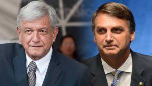 Bolsonaro y López Obrador