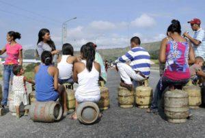 Protesta gas Península Paraguaná