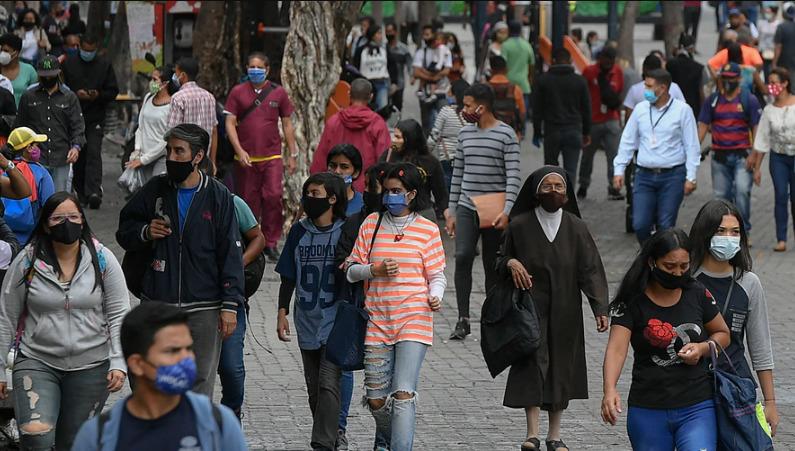 Venezuela registró 320 nuevos contagios las últimas 24 horas