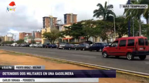 Dos militares detenidos en Bolívar por aceptar sobornos en E/S