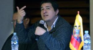 Correa ya cuenta con candidato para elecciones presidenciales de Ecuador