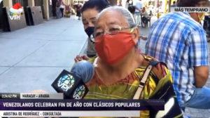 Venezolanos recordaron canciones populares para despedir año viejo