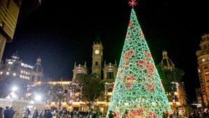 Navidad en Valencia, España