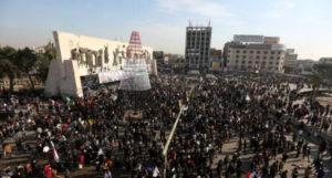 Manifestaciones en Irak a un año del asesinato de Soleimaní
