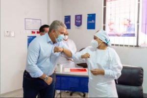 Colombia | Verónica Machado, primera persona en vacunarse contra la covid-19