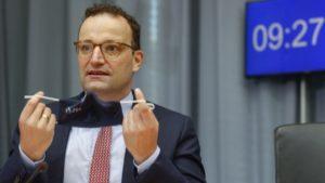 Jens Spahn reactivación   Foto: AFP