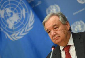 António Guterres - ONU | Foto: AFP