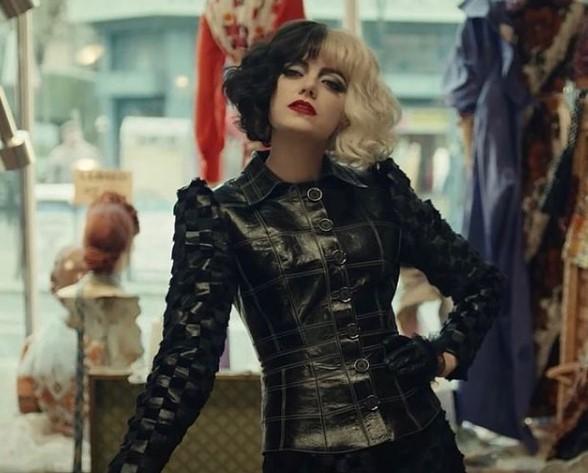 Emma Stone como Cruella de Vil | Foto: Cortesía