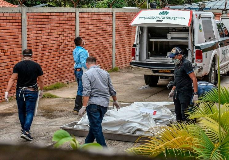 masacre colombia Foto AFP