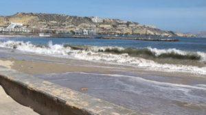 Protección Civil confirmó marejada en las costas de Anzoátegui