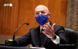Alejandro Mayorkas EE. UU. Foto AFP