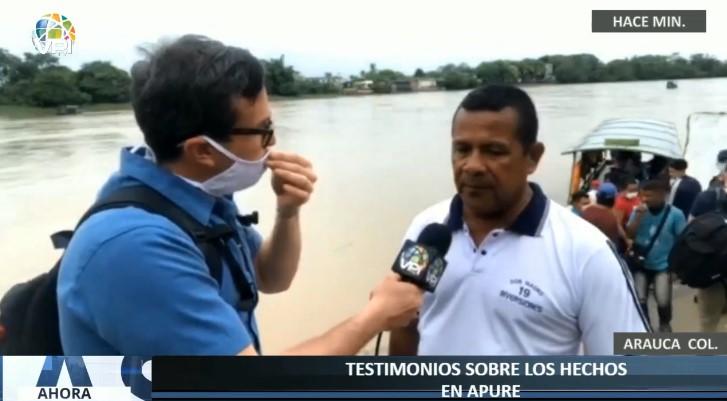 Venezolano desplazado: Tengo temor de regresar a Venezuela