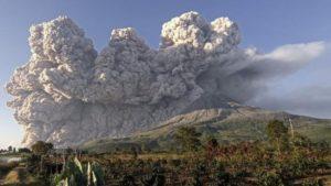 Volcán en Indonesia | Foto: Unión Radio
