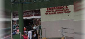 Habilitaron área pediátrica del hospital de Maturín para pacientes con covid-19