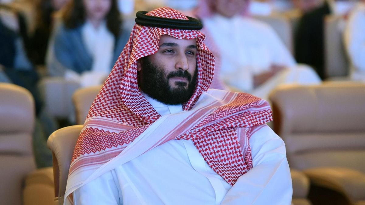 Reporteros - Mohamed bin Salmán   Foto AFP