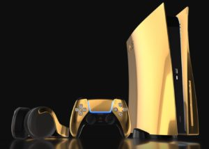 PS5 oro | Foto: Truly Luxury