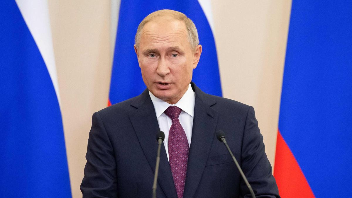 Vladimir Putin Foto AFP