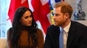 Separación de Harry y Meghan de la realeza británica - AFP