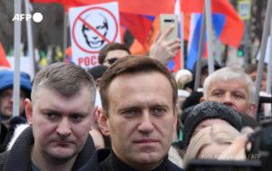 alexéi navalni Tribunal Foto AFP