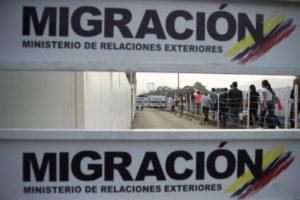 migración Colombia | Foto: AFP