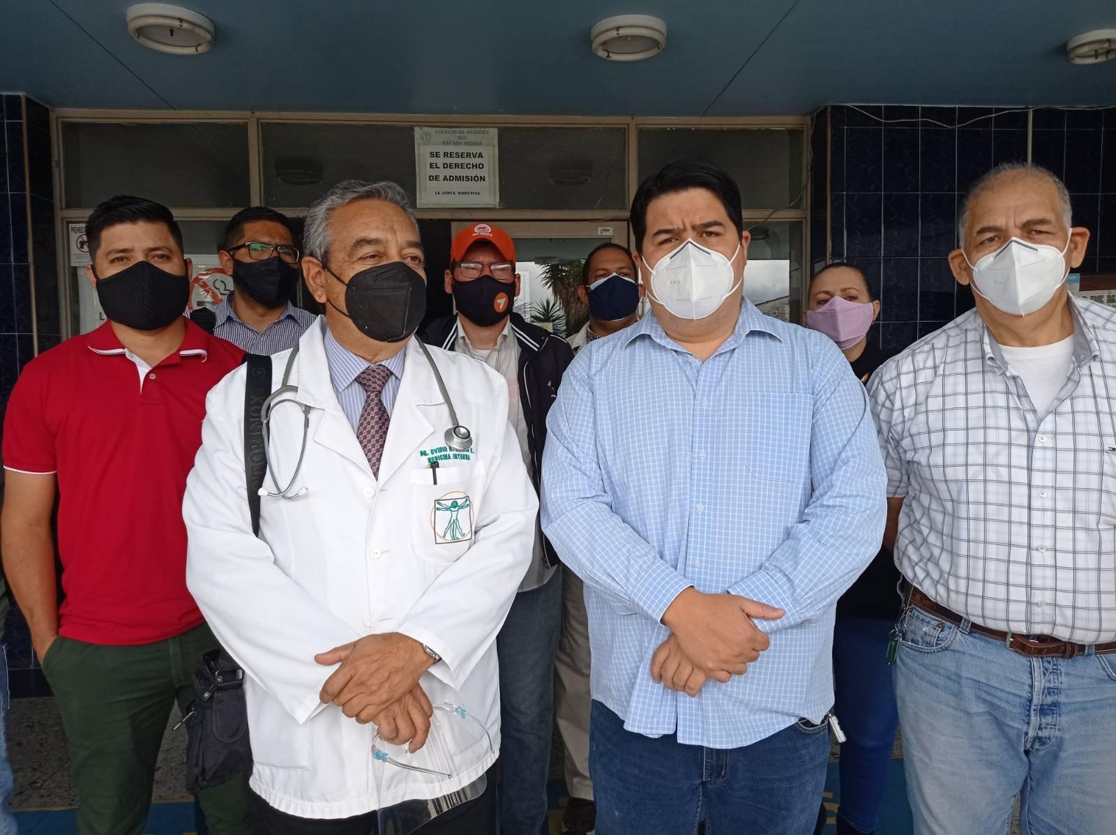 Médicos de Mérida rechazaron decisión de Maduro en no aceptar vacunas del mecanismo Covax