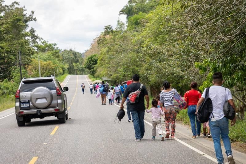 Migrantes venezolanos en México | Foto: Cortesía