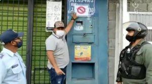 Marcan con carteles viviendas de pacientes con covid-19 en Yaracuy