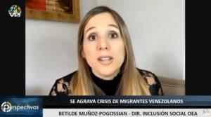 OEA: En los últimos años ha incrementado el número de mujeres que emigra de Venezuela