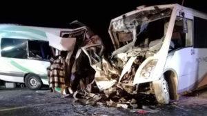 16 turistas perdieron la vida en accidente automovilístico en México