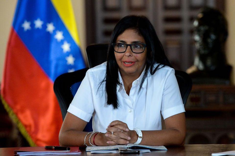 Delcy Rodríguez Foto AFP