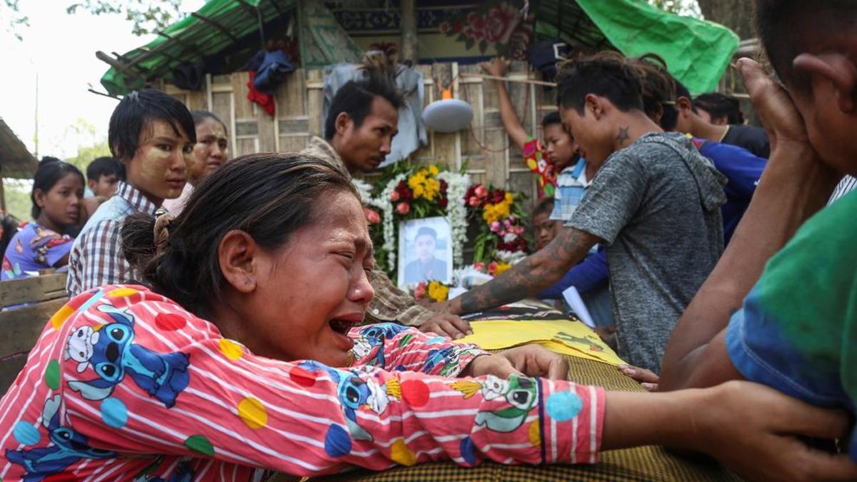 Más de 600 muertos en Birmania