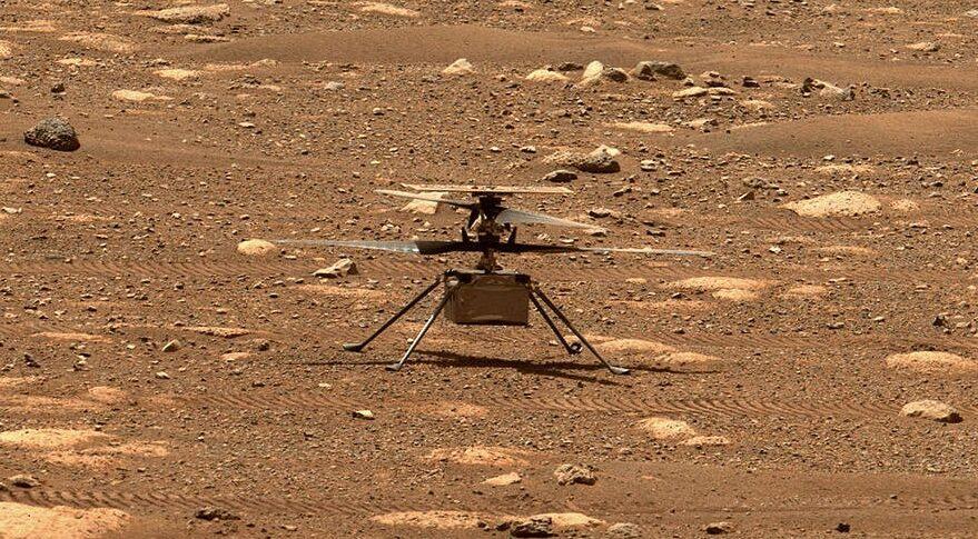 Ingenuity Foto NASA