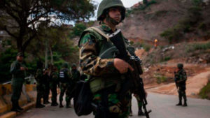 Militares en Apure | Foto: Cortesía Unión Radio