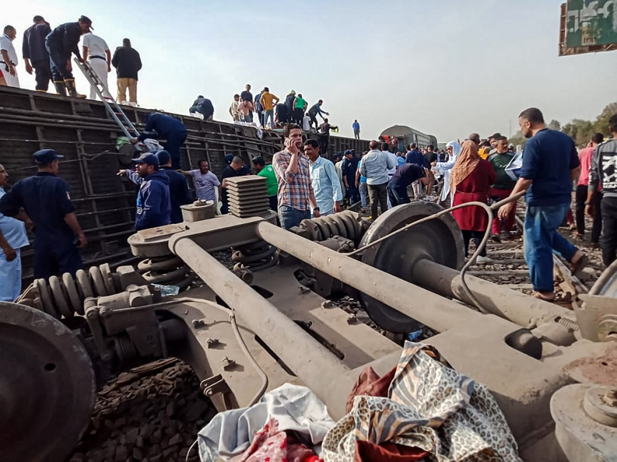 Accidente en Egipto   Foto: Cortesía